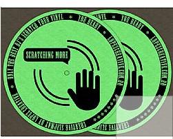 Feltro para toca discos Scratch More - Lopez Criative