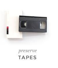 preserve tapes
