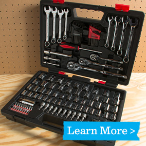135-Piece Wrench and Socket Set