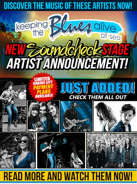 Keeping The Blues Alive At Sea. Payment Plans Available. Starring Joe Bonamassa, John Hiatt, Robben Ford, Robert Randolph & The Family Band, Ana Popovic, Joanne Shaw Taylor, and just added Sept 16th: Rock Candy Funk Party, Bernie Marsden, SIMO, Ryan McGarvey, The Record Company and Brandon Santini And Many Many More! Book now.