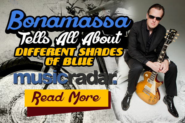 Bonamassa tells all about 'Different Shades of Blue'. Read now!